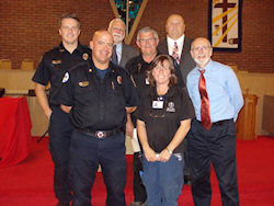1st Annual Ecumenical Service in Tribute to First Responders, Thursday, September 11, 2014